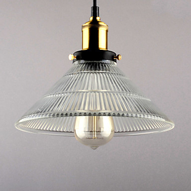 Edison Light Bulb Retro Loft Style Vintage Lamp Industrial Pendant Lighting with Glass Iron Painting Lamparas edison loft style vintage light industrial retro pendant lamp light e27 iron restaurant bar counter hanging chandeliers lamp