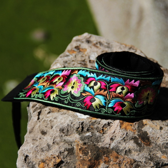 National Trend Accessories Unique Satin Exquisite Embroidered Belt Embroidered Belt Yd-04 Free Shipping