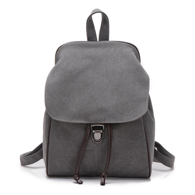 Nueva vendimia de las mujeres Señoras de La Muchacha bolsa de la escuela del estudiante mochila de lona mochila de viaje Bolsa de Viaje mochila masculina bolsa