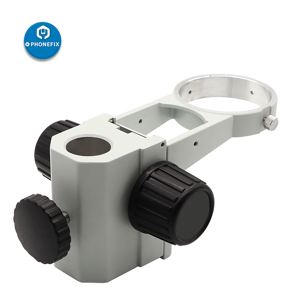 Stereo Zoom Microscope Adjustment Focus Arm Holder Microscope Head Holder Ring Arbor Stand Bracket Heavy Gear