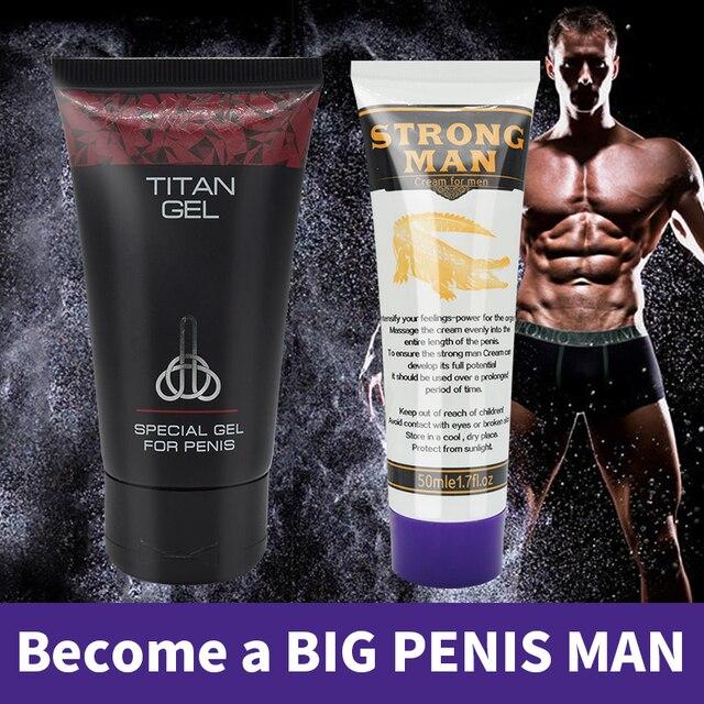 titan gel lubrificante íntimo especial gel para homens penis bomba