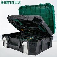 SATA 88 шт. Электрический бытовой оборудования Toolbox, многоцелевой электрик Деревообработка комплект для ремонта, ручная дрель 05152