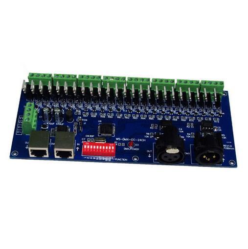 best price 1 pcs DC12-24V DMX-CC-24CH 8 groups 24 channel dmx512 decoder use For led strip light best price 1 pcs dc12 24v dmx cc 24ch 8 groups 24 channel dmx512 decoder use for led strip light