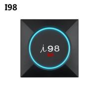 S905X I98 PRO Amlogic Smart Android 6.0 TV Box 1 GB 8 GB/2 GB 16 GB Odtwarzacz Multimedialny 2.4 GHz WiFi H.265 4 K UHD VP9 HDR10 Set Top Box