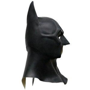 Image 5 - Batman Cosplay Kostuum Masker Helm Bruce Manier Superheld Grappige Masker Latex Volledige Gezicht Apex Oren Volwassen Maskers Prop Halloween Party mannen