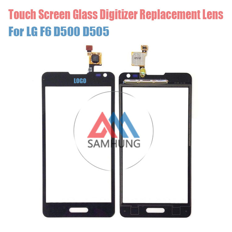Wholesale Original Touch Glass Lens Panel For LG F6 D500 D505 Touch Screen Digitizer with logo