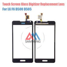 Wholesale Original Touch Glass Lens Panel For LG F6 D500 D505 Touch Screen Digitizer with logo With tools free ship