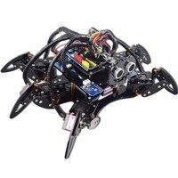 Adeept Hexapod 6 ноги Паук Робот комплект для Arduino UNO R3 с PDF Путеводитель