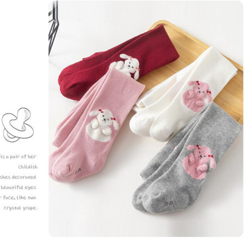 Adorable Little Bunny/sheep Design Newborn Baby Pantyhose Cotton Breathable Toddler Girls Tights For Children Stocking 0-3Yrs