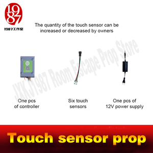 Image 4 - Room escape peop touch sensor prop touch in correct sequence to unlock real life adventure game props jxkj1987 chamber room