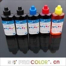 WELCOLOR 520BK PGI520 Пигментные чернила 521 CLI521 Dye ink refill kit для Canon PIXMA IP 3600 IP3600 IP4600 IP4700 СНПЧ для струйных принтеров