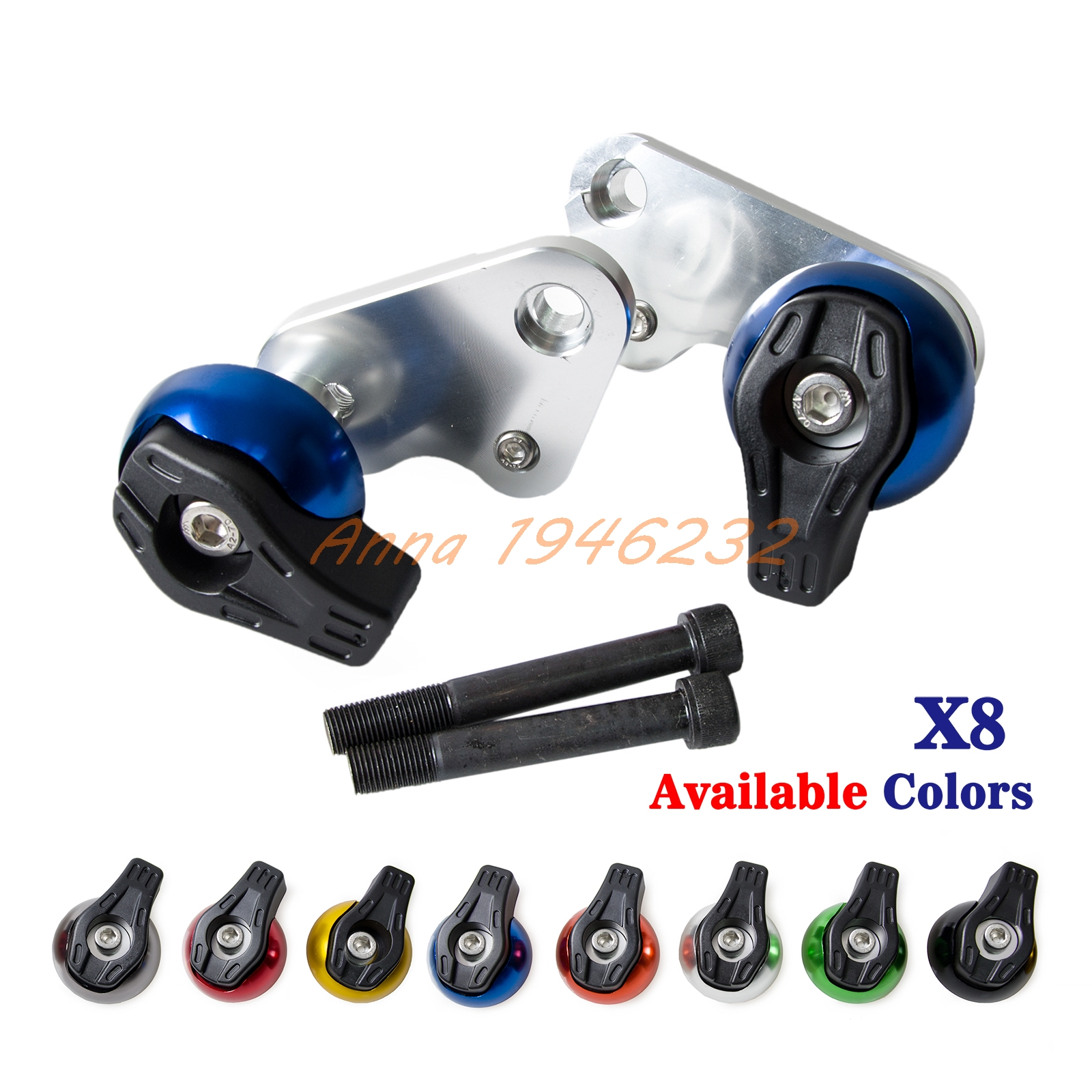 Motorcycle CNC Aluminium Frame Sliders Crash Pads Protector For ...