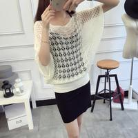 Women Summer Sweater 2018 Fashion Casual Loose Bat ...