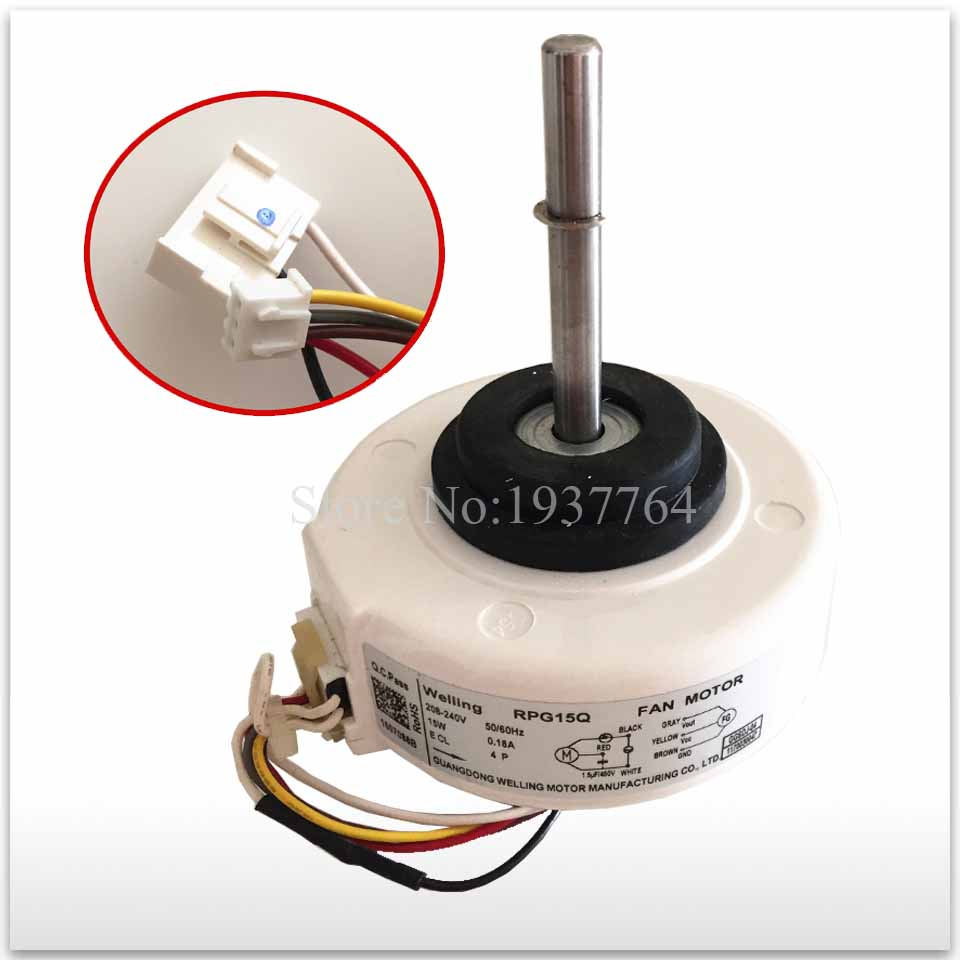 100% new for air conditioning Air conditioner Fan motor DC motor RPG15Q new air condition condenser fan motor