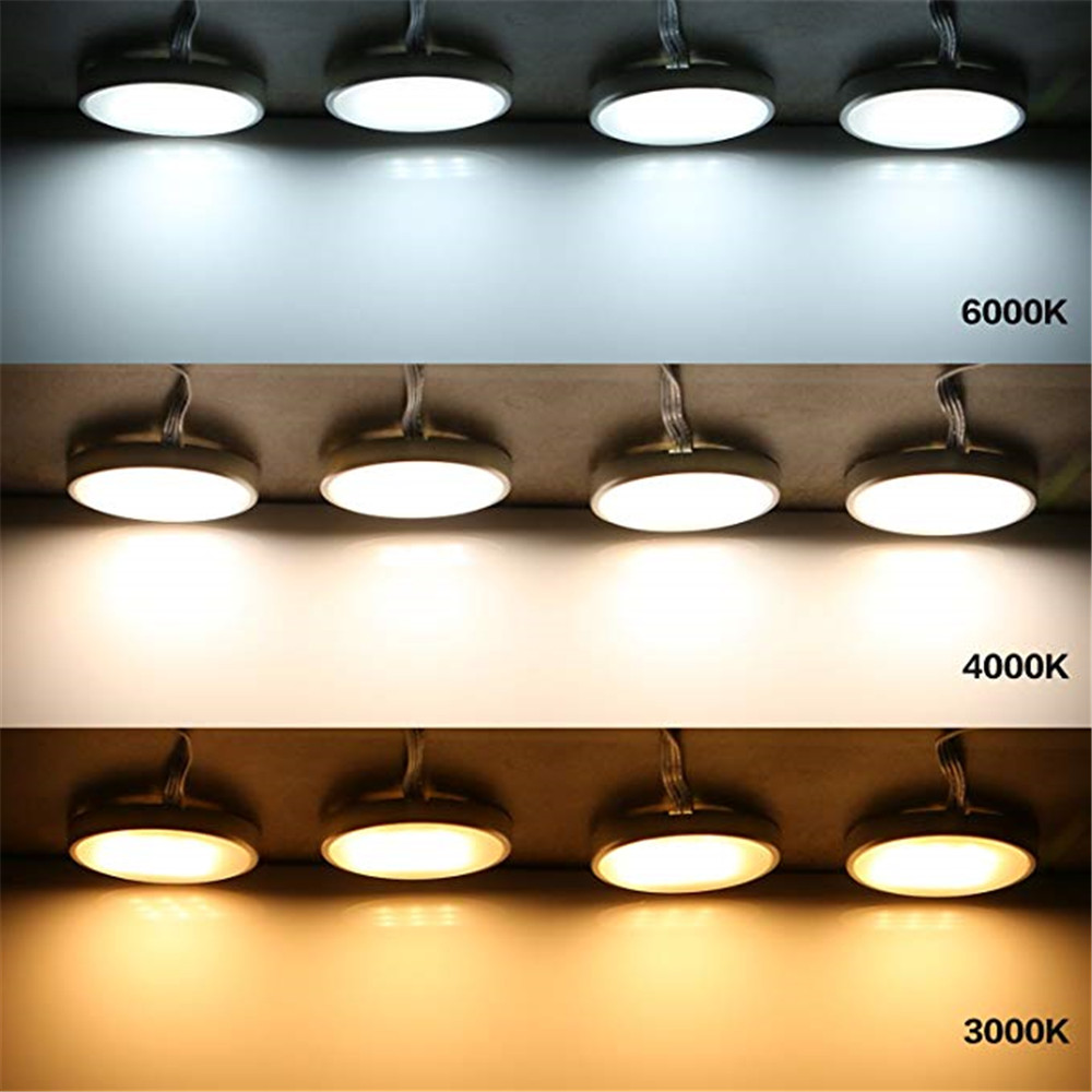 LED Under Cabinet Counter Lighting Soft Cool White Dimmable Available for Book Shelf Closet Lighting SMD2835 3000-6000k 4 PacksLED Under Cabinet Counter Lighting Soft Cool White Dimmable Available for Book Shelf Closet Lighting SMD2835 3000-6000k 4 Packs