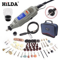 HILDA 150W Power Tools Electric Rotary Tool Dremel style Mini Drill for Dremel tools Variable Speed 99 Pcs Accessories