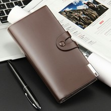 High-end Luxury Wallets for Men,Long Purse More screens large male handbags card package Coin Purse best gift Drop shipping!