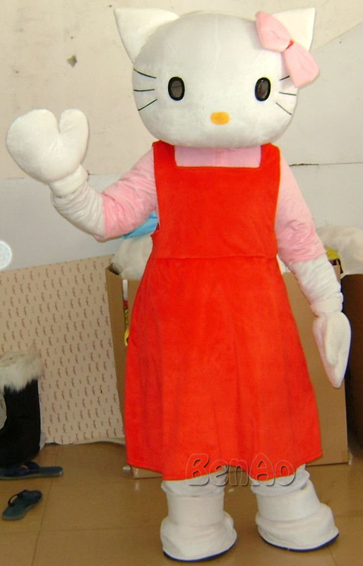Free shipping Latest high quality cute cat Mascot Costume Mascot Cartoon Suit Costume Halloween Holiday special clothing