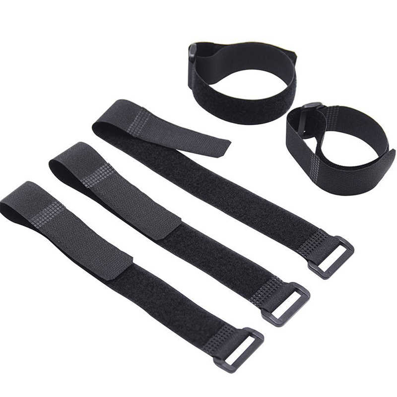 bb419a33055e Detail Feedback Questions about Self Adhesive Reusable Cable Tie Winder Nylon  Fastener Hook And Loop Strap Cord Ties PC TV Organizer 29cm Length 2cm  Width ...