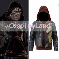 Suicide Squad Killer Croc Whalen Jones Costume Halloween Party Cosplay Clothing For Men Movie Cos Jackets