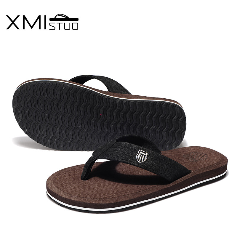 XMISTUO britu stila vīriešu apavi Cool Men Flip Flops vīriešu - Vīriešu apavi - Foto 5