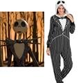 Pesadilla Antes de Navidad Jack Onesie Adultos Fleece Pajamas Noche de Halloween anime cosplay de la historieta