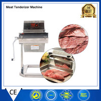 MTS5 5 WIDE Manual Meat Tenderizer Meat Cuber Makes Meat More Delicious Stainless Steel Commercial And