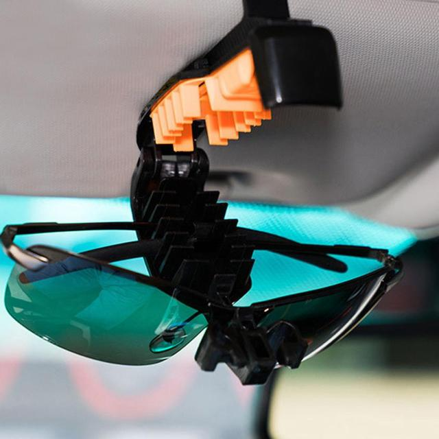 CARPRIE High Quality Car-stylish Hot Glasses Holders for Car Sun Visor Fine Good Sunglasses eyeglasses Case Clip Mount Mar15
