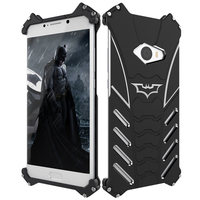 Luxury Armor Heavy Duty Metal Case For Xiaomi Mi Note 2 Batman Protect Hard Back Cover