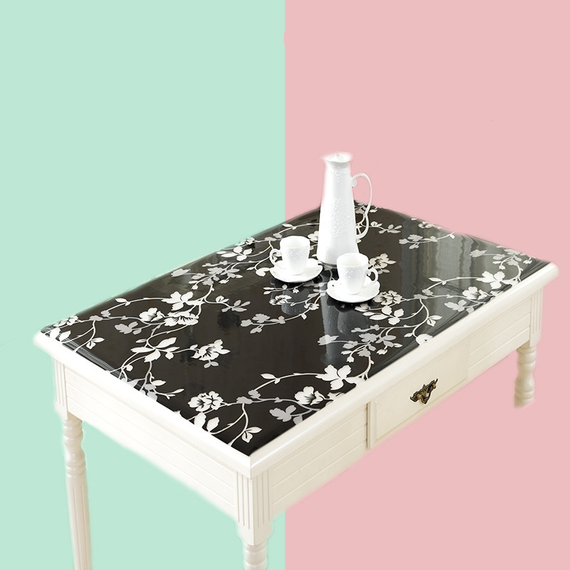 1 0mm pvc table cloth home textile table decor oilproof table covers tablecloth with pattern kitchen