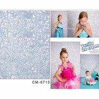 TR photographic camera light spot fond backdrop vinyl photo babies Silver shiny glitter backgrounds photography backdrops