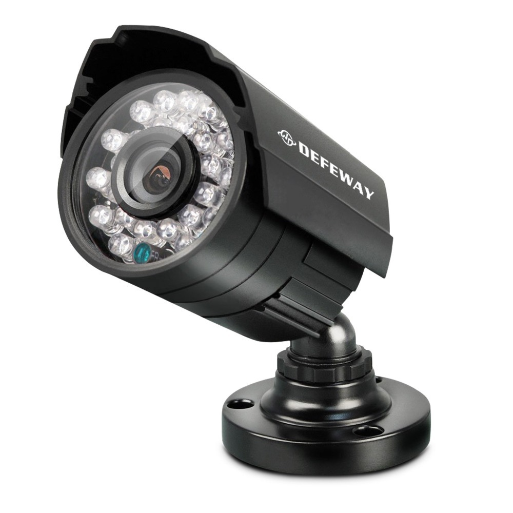 Exterior Home Security Cameras: DEFEWAY 720P AHD Outdoor Indoor Video Surveillance Camera