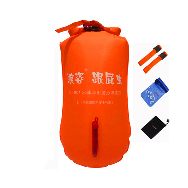 Inflatable Stooge Swim Dual Airbags Bags Floating Drifting Buoy Child Adult Lock Catch Safe Easy Learning Study Swimming Ring new and original brp3m mdt brp3m mdt p autonics photoelectric switch 12 24vdc