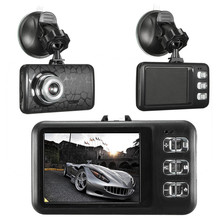 Видеорегистраторы для автомобилей Камера 2.4 дюймов Full HD 1080 P регистратор Регистраторы обнаружения движения ИК Ночное Видение G-Сенсор регистраторы