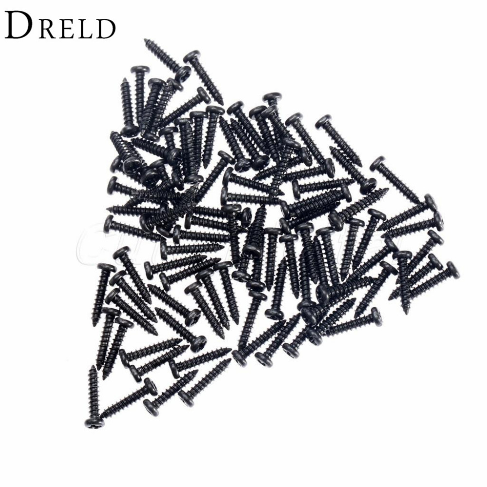 Black M2x10mm Cap Screws Bolts Cross Head Screws for Wooden Jewelry Box Self tapping Computer Case Screws M2 100pcs 50pcs lots carbon steel screws black m2 bolts hex socket pan head cap machine screws wood box screws allen bolts m2x8mm