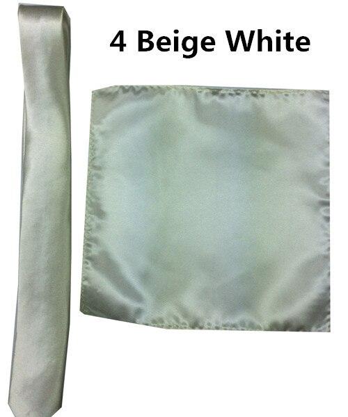 4 _  39 Colours Man Polyester Silk Pocket Sq. Tie Go well with Set Hanky Groom Wedding ceremony Fits Enterprise Handkerchief Necktie ZY186117 HTB11PoayQSWBuNjSszdq6zeSpXaN