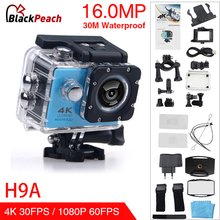 HAMTOD H9A HD 4K WiFi Action Camera with Waterproof Case 2.0 inch LCD Screen 170 Degree Wide Angle Lens Sport camera цены