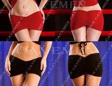 Pleat Mini Short skirt*2856 *ladies G-string T-back Teddy Bikini Boxer Triangle Pajamas Skirt Suit Middle trousers Free Shipping