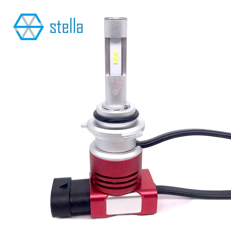 Car-styling 9005/9006 led headlights/fog lights automotive lighting single beam 6000K 8400LM white light 9005/HB3/9006/HB4 CSP zdatt 360 degree lighting car led headlight bulb h4 h7 h8 h9 h11 9005 hb3 9006 hb4 100w 12000lm fog light 12v canbus automobiles