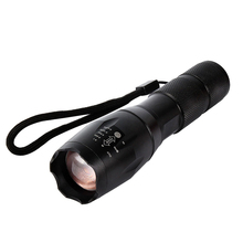 Led Flashlight Lanterna Torch CREE XML-T6 5 Modes 4000 Lumen Flashlight Zoomable Linternas Led Flashlight with 3xAAA 1x18650