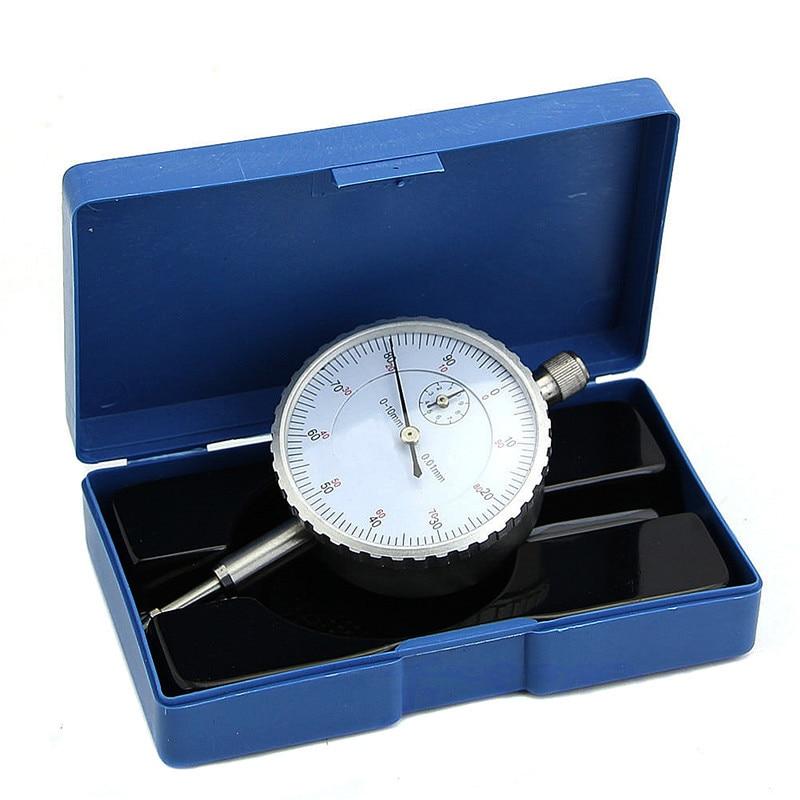 1Piece 0-10mm Dial Indicators 0.01mm Accuracy Measurement Instrument Gauge Precision Tool Dial Indicator