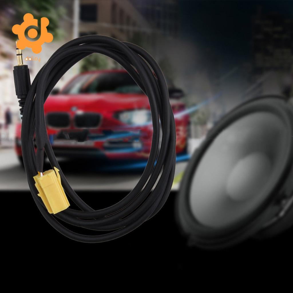 Mini Iso 6pin Connector Usb Adpater Cable For Alfa Romeo Fiat Grande Punto Fuse Box Cover 35mm Aux 15m Wire Audio Adapter Radio Keys Mp3