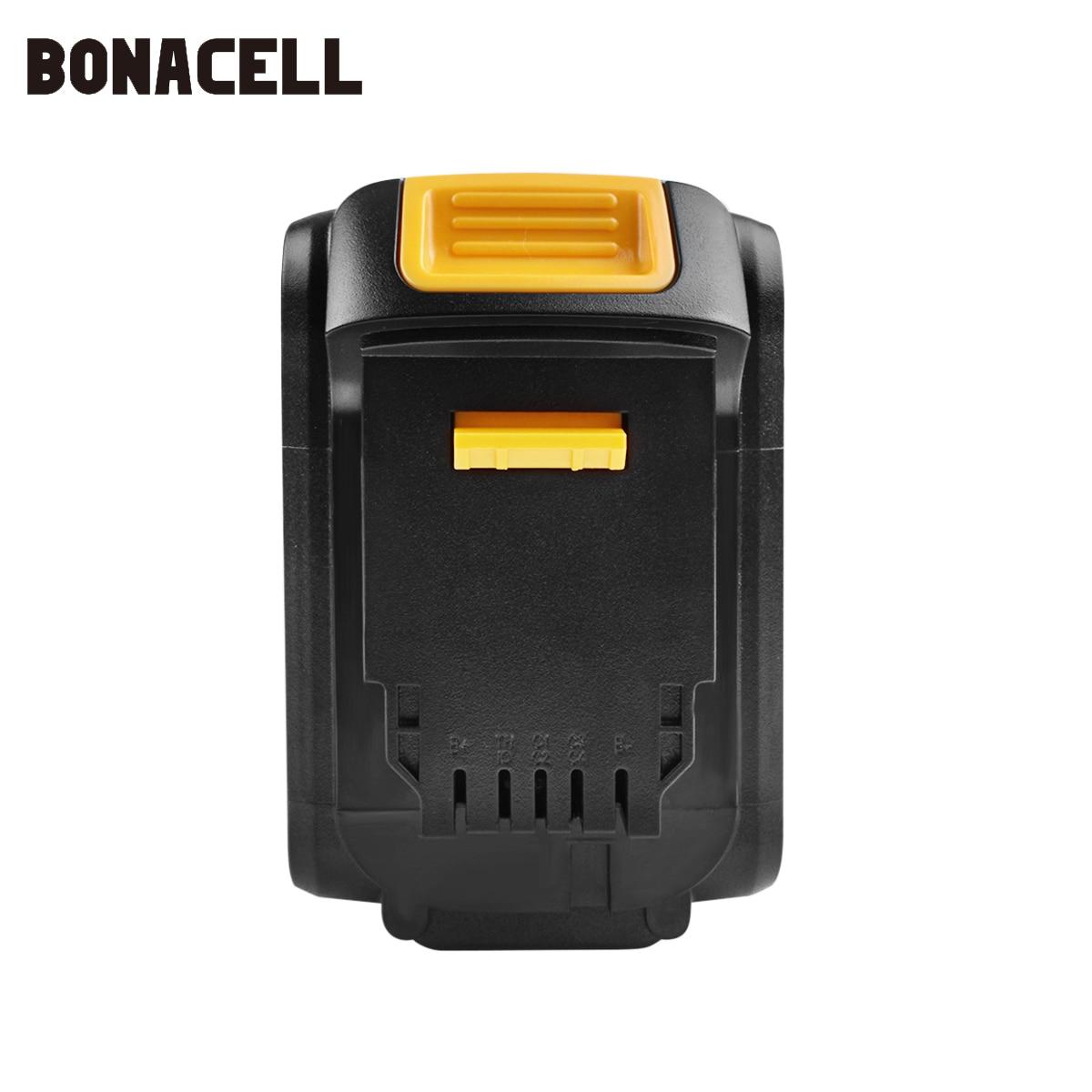 Image 4 - Bonacell Battery for Dewalt 4000mAh Replacement Battery for DCB200 DCB181 DCB182 DCB204 2  DCB201 DCB201 2 L10-in Replacement Batteries from Consumer Electronics