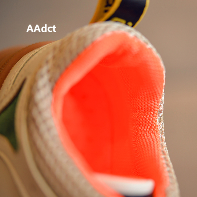 AAdct Autumn Breathable running shoes for girls boys Non-slip sneakers children shoes 2018 Casual sports kids shoes  4