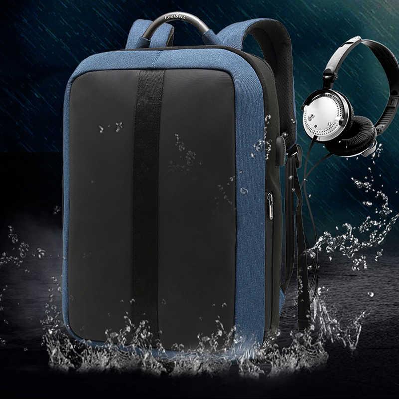 Зарядка через usb рюкзак для MacBook Pro 15 15,4 сумка для ноутбука lenovo ASUS hp Xiaomi samsung Dell huawei 14 15,6 дюймов Сумка