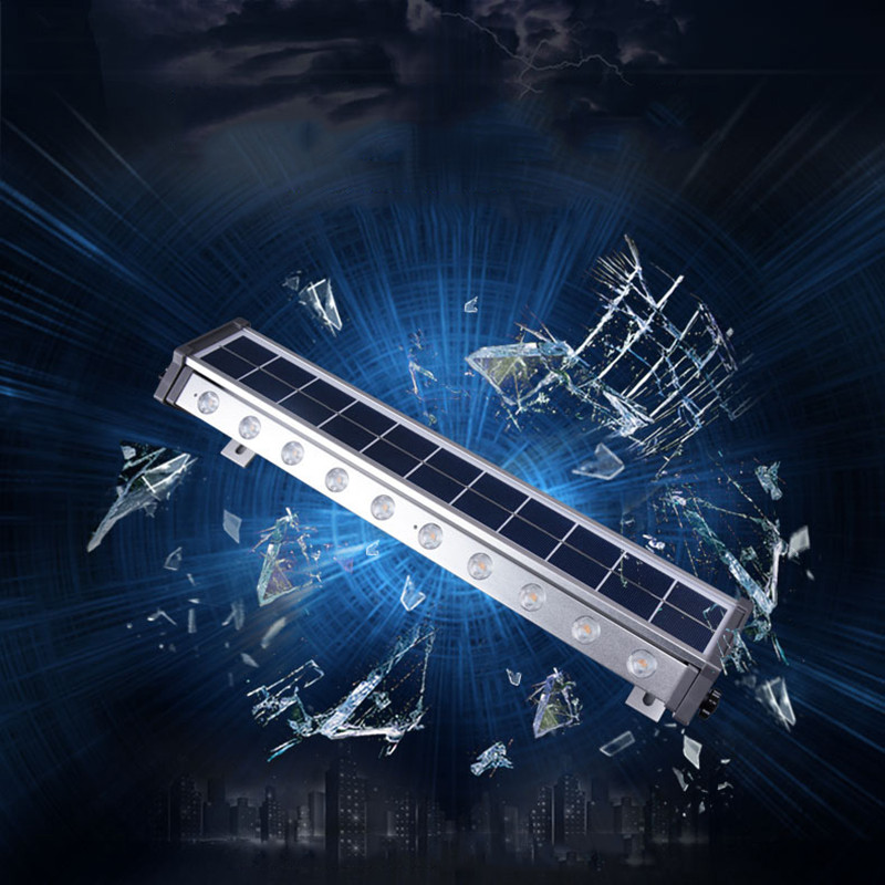 Светодио дный LED панели солнечные Уличный настенный светильник супер яркий домашний сад открытый лампы светодио дный 10 led экономии энергии