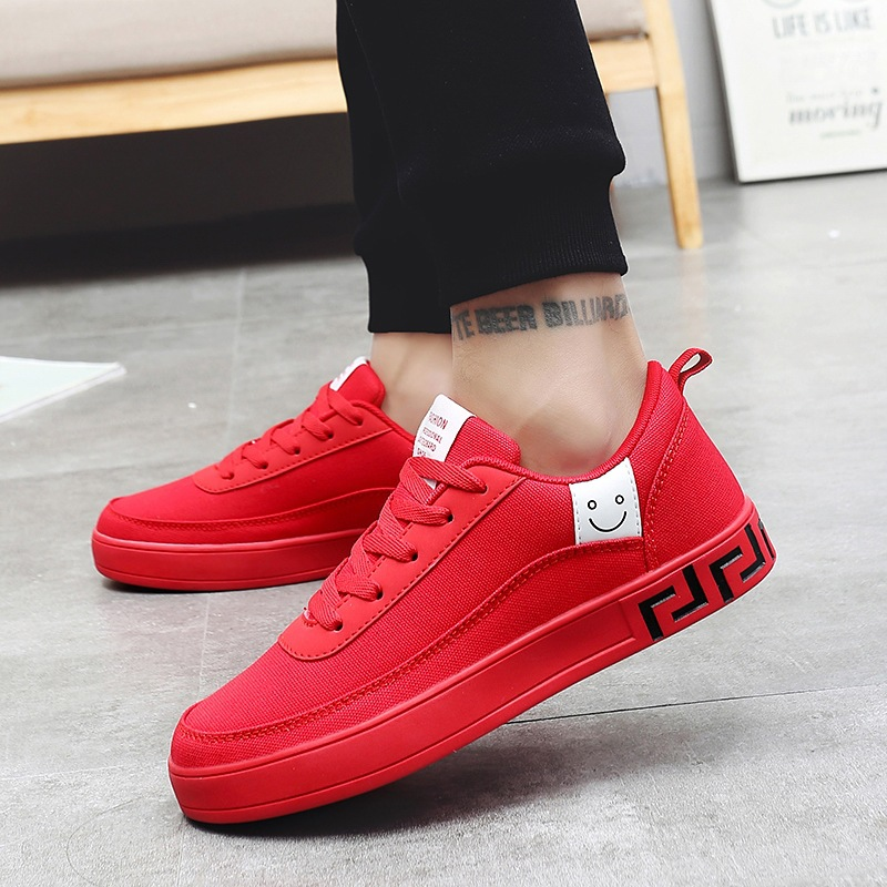 Women Vulcanized Lace-up Sneakers