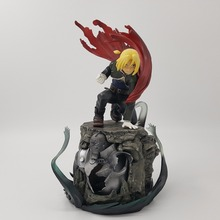 Anime Fullmetal Alchemist PVC Action Figure Edward Elric Collection Model Toy Anime Fullmetal Alchemist Edward Figurine Toys