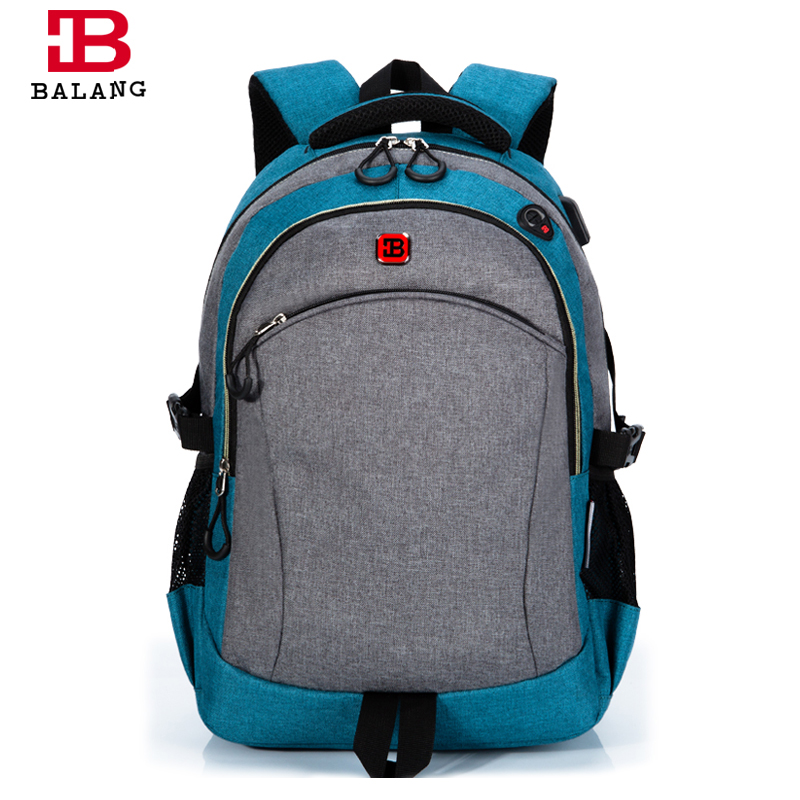 2016 New Style Women Backpack Simple Design 15'' Laptop Backpacks High Quality Waterproof Oxford Travel Bag Student School Bags