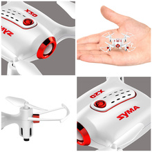 SYMA X20 Mini Dron RC Quadcopter Drone 2.4G 4CH 6-aixs Gyro RTF with Headless Mode Altitude Hold 3D-flip Latest Aircraft